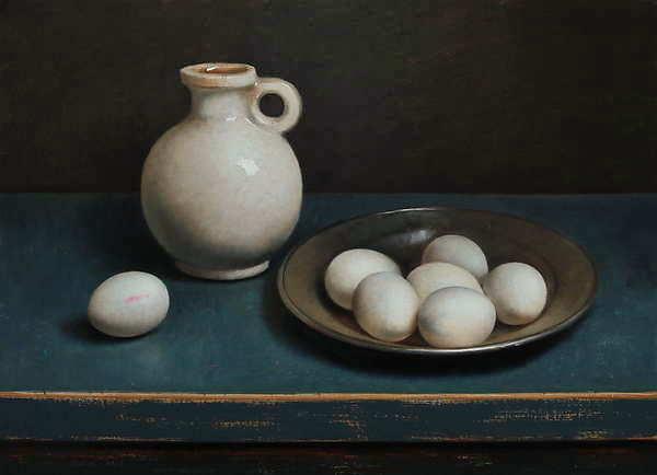 Painting: Eierstilleven