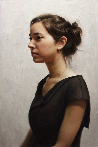 Painting: Portret van Irene