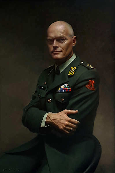 Painting: Militair Portret