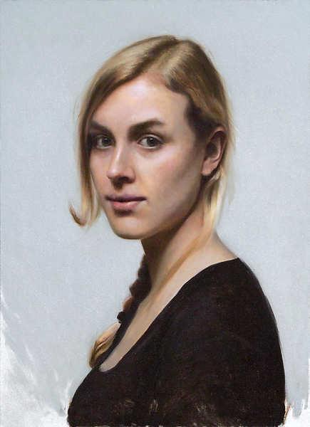 Painting: Portret van Esther
