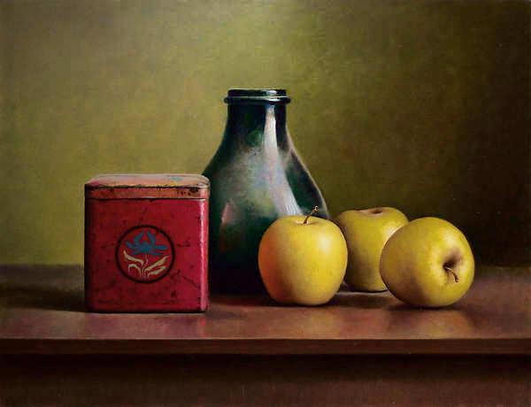 Painting: Appelstilleven