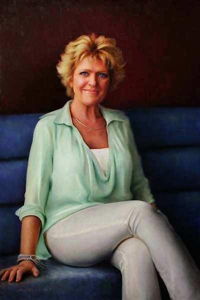 Painting: Portet van Simone Kleinsma
