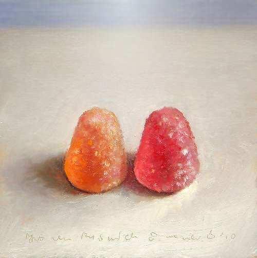 Painting: Stilleven met tumtum
