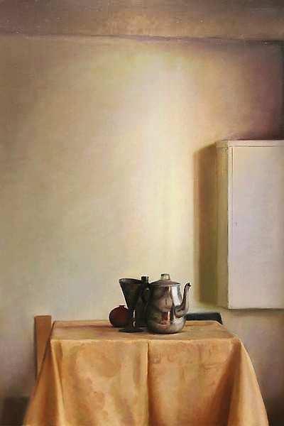 Painting: Stilleven met zonlicht
