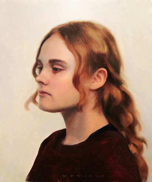 Painting: Portet van T.H.
