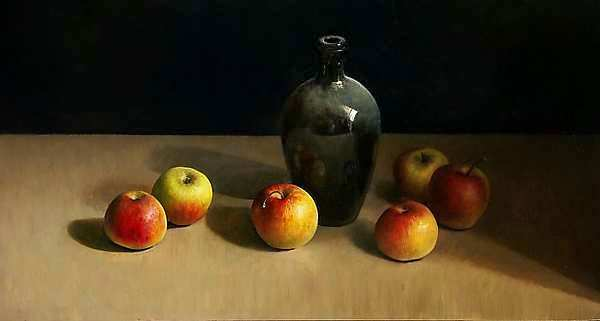 Painting: Appelstileven
