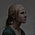 Portret van Susan, 40x40cm, 2014.