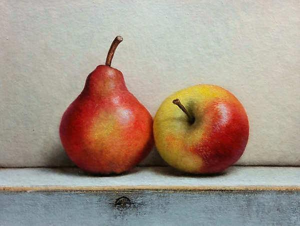 Painting: Fruitstilleven