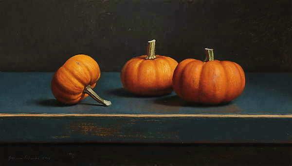 Painting: Pompoenstilleven