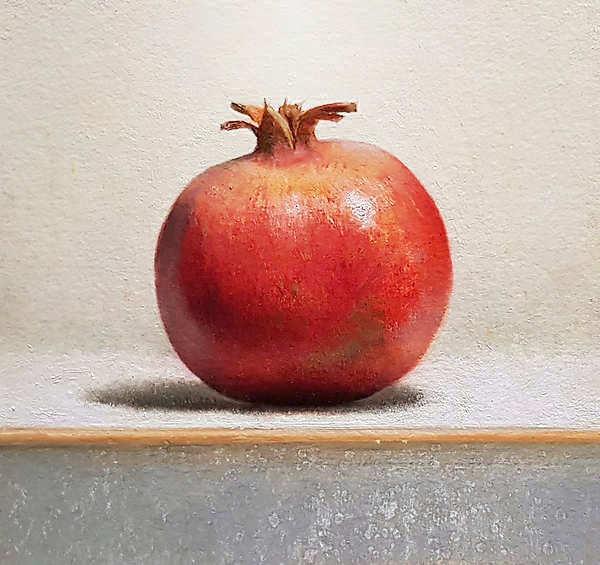 Painting: Stilleven met granaatappel
