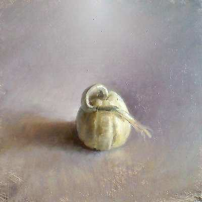 Painting: Stilleven met Sierappel
