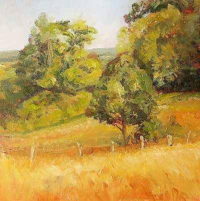 Painting: 'De Natte Beek', Ubbergen