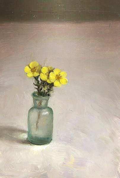 Painting: Klein bloemstilleven