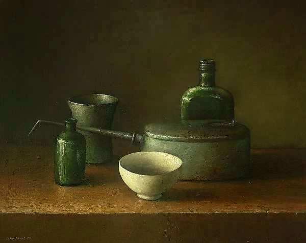Painting: Chinees kommetje