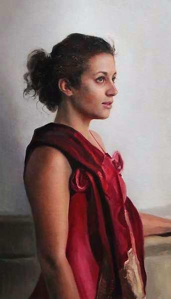 Painting: Figuurstudie met Sofie