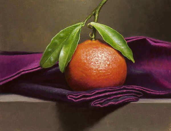 Painting: Mandarijntje