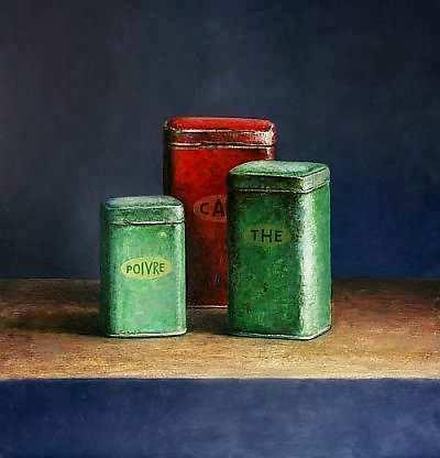 Painting: Stilleven met koffie a