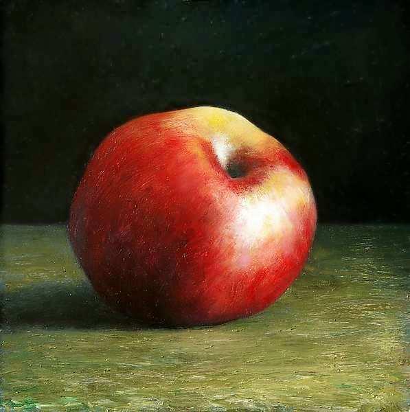 Painting: Stilleven met appel