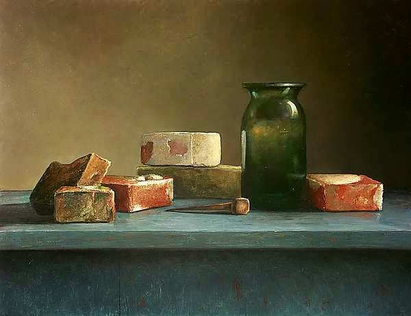 Painting: Bezoek aan Helmantel s atelier