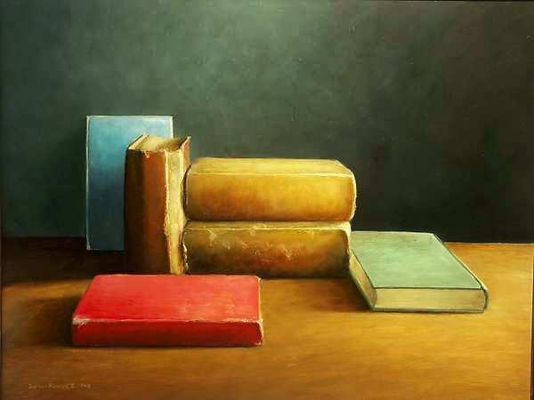 Painting: Boeken