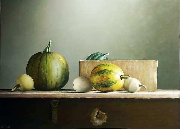 Painting: Pompoenen