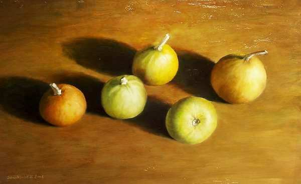 Painting: Sierappels